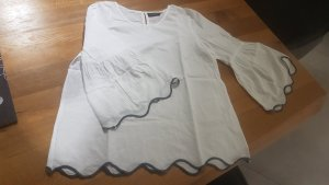 Broadway Blouse en jean blanc-gris ardoise