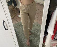 H&M Pantalone di lino beige