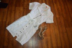 Object Shirtwaist dress white