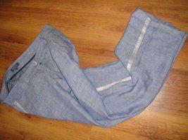 Sa.Hara Pantalone di lino multicolore Lino