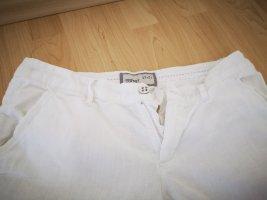 Esprit Pantalón de lino blanco