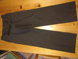 Etro Pantalon en lin gris foncé-gris anthracite