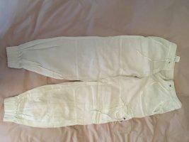 Sisley Pantalón de lino blanco Lino