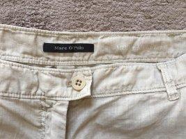 Marc O'Polo Pantalone di lino beige chiaro-crema Lino