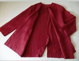 Catherina Hepfer Bluzka oversize głęboka czerwień