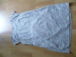 Leinenkleid von Puro Lino steingrau 100% Leinen Gr.46 NEU