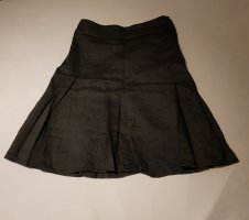 H&M Falda de lino negro