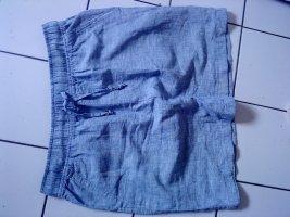 Leinenrock jeansblau 40