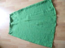 Maliparmi Falda de lino verde Lino