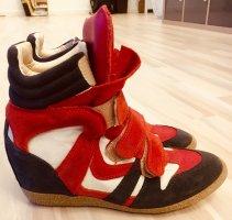 Lemaré Sneaker con zeppa multicolore
