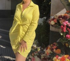 Lemon Blusenkleid