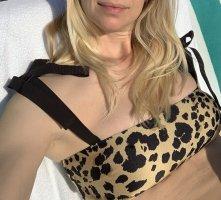 Leo-Bikini mit Bandeau-Top von Zimmer Animal Print VENETO TIE BANDEAU BIKINI