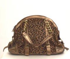 Leo-Look Handtasche