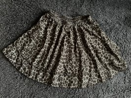 Falda gitana gris-negro