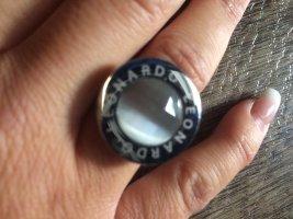 Leonardo Ring Matrix mit grauem  Stein Gr 53/54