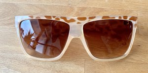 Retro Glasses beige-brown