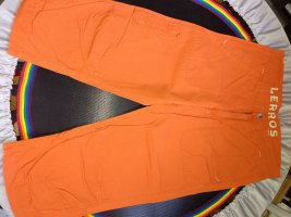 Lerros Luźne spodnie ciemny pomarańcz