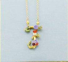 Les Néréides Collana multicolore