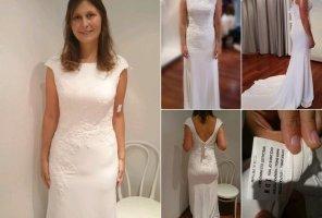 Letzte Chance! Neues Brautkleid ähnlich Pronovias