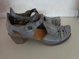 Rieker Sandalo con cinturino blu pallido