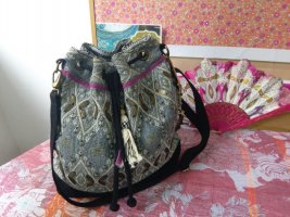 Anokhi Pouch Bag multicolored cotton