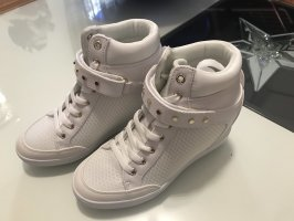 Guess Sneaker con zeppa bianco
