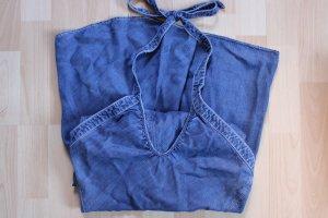 Armani Exchange Jeansjurk leigrijs-korenblauw Lyocell