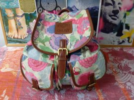 Oilily Trekking Backpack multicolored cotton
