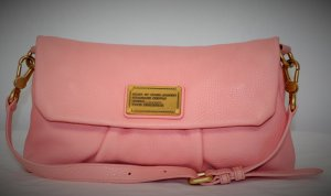 Marc by Marc Jacobs Clutch pink leather