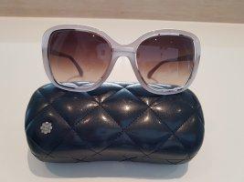 Chanel Gafas de sol cuadradas gris claro-beige claro