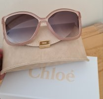 Chloé Okrągłe okulary przeciwsłoneczne jasnobrązowy-nude