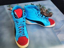 Puma Zapatillas altas multicolor tejido mezclado