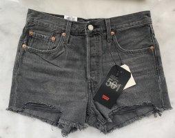 Levi's Denim Shorts dark grey-grey