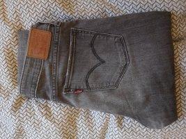 Levi's 711 Skinny Jeans Grau W26