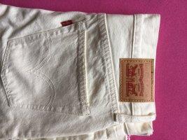 Levi's Jeans slim blanc cassé-blanc