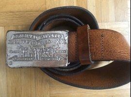 Levi's Cintura di pelle cognac