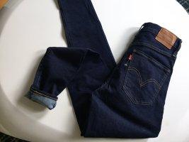Levi's Jeans mile high super skinny marine 27 36 S denim Premium Neu