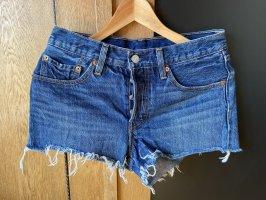 Levi's Jeansowe szorty niebieski