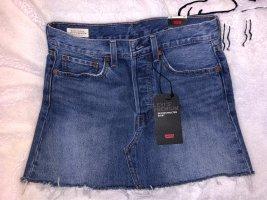 Levi's Jeansowa spódnica Wielokolorowy Bawełna