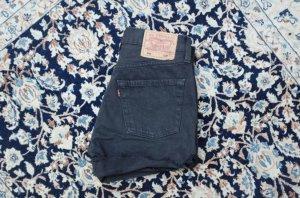 Levi's Jeansshorts Black 501