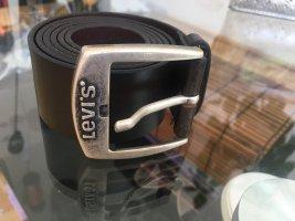 Levi's Cintura di pelle marrone scuro