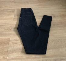 Levi's Jeans taille haute noir