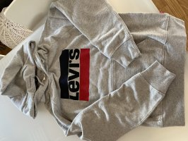 Levi's Capuchon sweater grijs