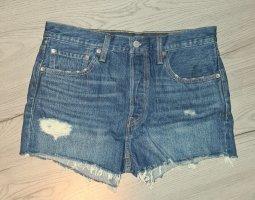 Levi's Denim Shorts steel blue