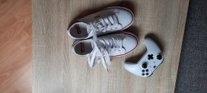 Levi's Lace-Up Sneaker white-dark red
