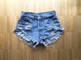Levi's Strauß Nieten Jeans Shorts XS
