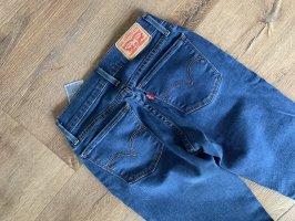 Levi's Super Skinny Jeans, Blau, Größe 24/00/XS
