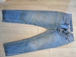 Levi's Jeans coupe-droite bleu-bleu acier coton