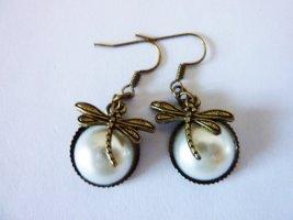 Libellen Ohrringe Nostalgie vintage Schmuck Jugendstil Schmuck Geschenke für sie