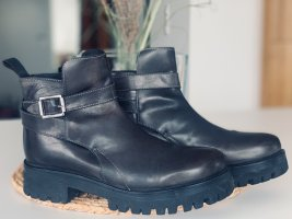 ❤️ Liebeskind Berlin Stiefel Stiefelette Chelsea Boots Plateau 38